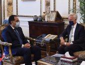 """رئيس الوزراء يلتقى نائب رئيس """"سيتي بنك جروب"""" للخدمات المصرفية للشركات والاستثمار"""