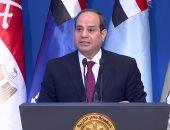 الرئيس السيسى: احتفال نصر أكتوبر مناسبة عزيزة تشعرنا بالفخر والاعتزاز الوطنى