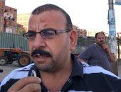 أهالى قرية بالمحلة يرفعون شعار ممنوع دخول المتسولين لمنع السرقات.. فيديو