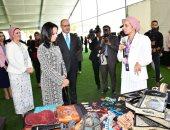 القوات المسلحة تنظم احتفالية لزوجات الضباط المرشحين للعمل الدبلوماسى العسكرى