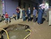 محافظ الفيوم يوجه السكرتير العام بتفقد موقع انسداد خط للصرف بقرية فيديمين