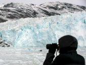 """""""تكاثر الثلج"""".. نهر إيكى الجليدى أعجوبة تخطف أنظار الزوار بالدنمارك """"ألبوم صور"""""""