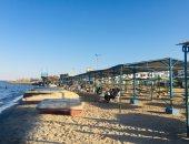 الصيف خلص والبرد وصل.. تراجع الإقبال على شواطئ الإسماعيلية.. فيديو وصور