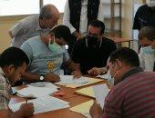 وزير التعليم العالى يتفقد مكتب تنسيق القبول بالجامعات والمعاهد