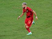 كاراسكو يسجل هدف بلجيكا الأول فى مرمى منتخب فرنسا بالدقيقة 37