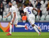 منتخب فرنسا يتعادل أمام بلجيكا 2-2 بهدفى بنزيما ومبابي.. فيديو