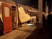 إصابة 33 مسافرا فى حادث تصادم قطارين بتونس