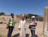 """""""مياه أسوان"""" تواصل حملات التوعية بقرية الطوناب ضمن """"حياة كريمة"""""""