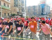 ماراثون دراجات تزامنا مع احتفالات أكتوبر والعيد القومى لمحافظة الغربية.. فيديو