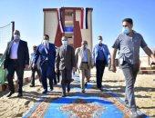 محافظ الغربية يفتتح 3 مدارس وقافلة بمناسبة العيد القومى للمحافظة.. صور