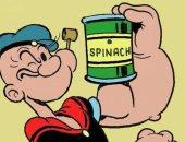"""دراسة: طعام الشخصية الكرتونية """"باباى"""" كالسبانخ والمشروم يحميك من أمراض القلب"""