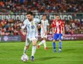ميسى يحتفل بثلاثية الأرجنتين فى شباك أوروجواى بتصفيات كأس العالم: انتصار عظيم