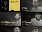 الكرة الذهبية.. بنزيما وكين ودوناروما فى قائمة ثانى 5 مرشحين