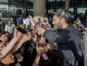 """""""فعلا أهل كرم"""" تامر حسني يوثق رحلته للأردن لإحياء حفل غنائى ويحتفى بالجمهور"""