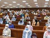 انتظام الدراسة بكليات جامعة القاهرة بأول أيام العام الدراسى الجديد.. صور