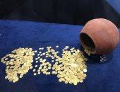 """""""خبايا الذهب"""".. معرض أثرى يسلط الضوء على الحلى المصرى القديم.. صور"""