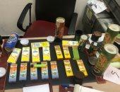 جمارك مطار القاهرة تضبط 16 سيجارة إلكترونية بها زيت الماريجوانا المخدر