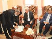 توقيع بروتوكول تعاون بين صندوق التنمية الحضرية ومحافظة جنوب سيناء