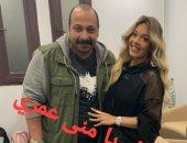 """رسالة رومانسية من محمد ثروت لزوجته فى عيد ميلاده: """"بحبك يا أم العيال"""""""