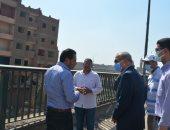 محافظ القليوبية يتابع أعمال توسعة الطريق الدائرى وتطوير شارع أحمد عرابى