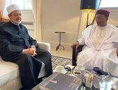 شيخ الأزهر يلتقى الرئيس السابق للنيجر لمناقشة سبل دعم القارة الإفريقية
