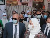 """محافظ بنى سويف يشارك وزيرة التضامن إطلاق حملة """"بالوعى مصر بتتغير للأفضل"""""""