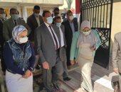 محافظ البحيرة: تطعيم المدرسين ضد كورونا بنسبة 100% ودخول 40 مدرسة الخدمة