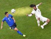 تعادل سلبي بين إيطاليا وبلجيكا في الشوط الأول بدوري الأمم الأوروبية