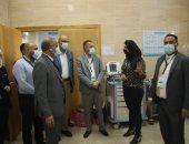 وفد صحى من ليبيا يزور منشآت صحية للاستفادة من تجربة مصر فى التغطية الشاملة