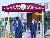 الرئيس السيسي: نسعى لزيادة الاستثمارات المصرية فى جنوب السودان