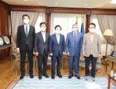 الفريق أسامة ربيع يستقبل رئيس البرلمان الكورى لبحث سبل التعاون المشترك.. صور