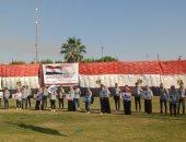 مخيم كشفى بجامعة أسيوط استعدادا لبدء العام الدراسي الجديد .. صور