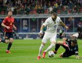 بنزيما يتعادل سريعا لـ فرنسا بهدف عالمى ضد إسبانيا فى الدقيقة 66.. فيديو
