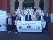 رئيس جامعة الإسكندرية يطلق قافلة طبية للمسح السمعى اللغوى بالتعاون مع التضامن