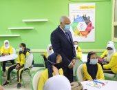 محافظ الجيزة يعلن دخول 1724 فصلا جديدا الخدمة لتقليل الكثافة بالمدارس.. صور