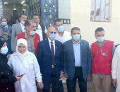 وكيل صحة الشرقية يتابع حملة التطعيم ضد كورونا بالقرى وسط توافد للمواطنين.. لايف