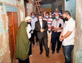 """محافظ الغربية يتابع مشروعات """"حياة كريمة"""" بقرية سندبسط بمركز زفتى"""