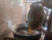 ضبط 2 طن أغذية وزيوت غير صالحة للاستهلاك الآدمي بالدقهلية