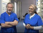 """""""اليوم السابع"""" بغرفة عمليات مستشفى أبو الريش خلال إجراء أول زراعة للصمام الرئوى"""