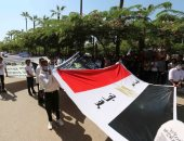 احتفال بجامعة المنصورة بمناسبة الذكرى الـ48 لنصر أكتوبر المجيد