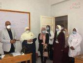 ملائكة الرحمة.. بث مباشر من داخل أول مدرسة تمريض للبنين فى بنى سويف