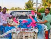 تموين الأقصر تحرر 74 محضرا وتضبط 240 قطعة حلوى مولد غير صالحة.. صور