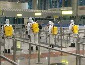 عمليات تعقيم مستمرة بالمطارات المصرية للوقاية من انتشار فيروس كورونا