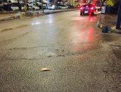 سقوط أمطار غزيرة على الإسماعيلية في تغير مفاجئ لحالة الطقس.. بث مباشر