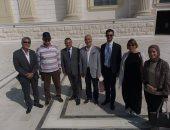 وفد من السفارة النمساوية يزور مدينة الفنون والثقافة بالعاصمة الإدارية الجديدة