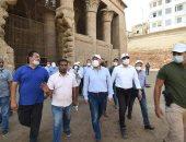 تفاصيل جولة رئيس الوزراء فى منطقة إسنا التاريخية لإعادة إحياء تلك المنطقة