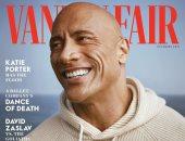 ذا روك يزيح الستار عن ظهوره على غلاف مجلة VanityFair: يحدث مرة واحدة فى العمر