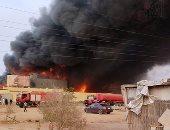 """""""صحة الشرقية"""": لا إصابات فى حريق مصنع الهلال والنجمة"""