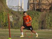 أحمد ياسر يعود للمشاركة في تدريبات البنك الأهلى