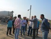 محافظ القليوبية يتابع أعمال توسعة الطريق الدائرى وتطوير محيط قصر محمد على بشبرا الخيمة